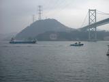 馬関海峡 船