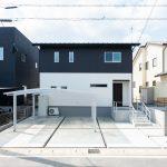 すっきりシンプルモダンな家