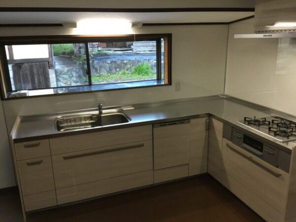 キッチン改修工事 水漏れ キッチンを新しくしたい 床が冷たいを解消