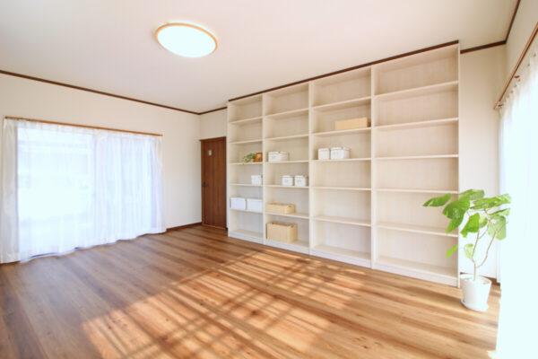 洋室改修 収納たっぷりフォーム 和室を洋室に 素敵なプライベートルームに