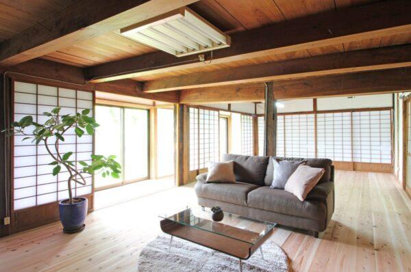 奥京都の古民家 セカンドハウスでゆったり、のんびりと快適に過ごせる改修工事