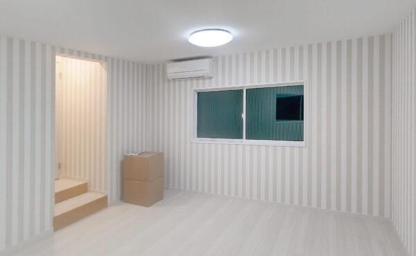 使っていない物置を子ども部屋にリフォーム 断熱もしっかりプライベートルーム完成