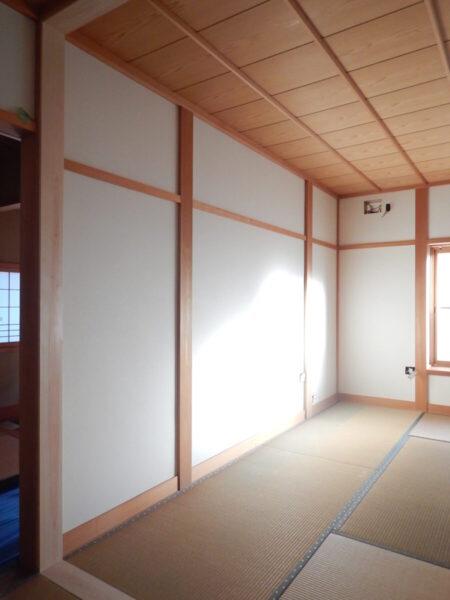 壁の色で印象が変わる!暗かった和室が明るくなりました