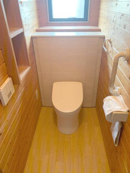 トイレ改修工事 収納一体型レストパル