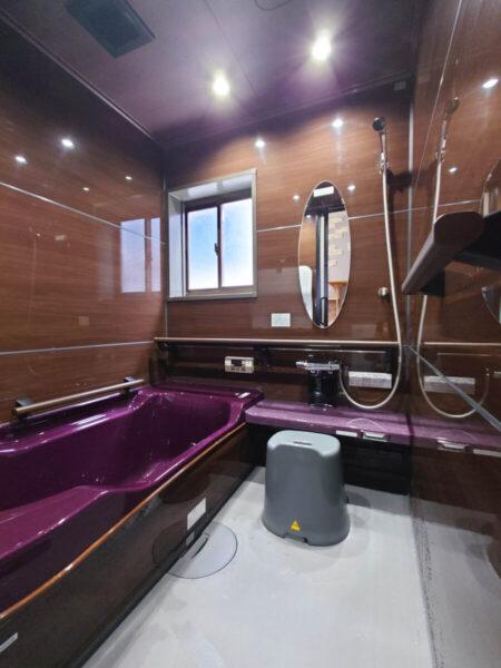 風呂リフォーム 個性的な浴室 おとなモダンなバスルーム