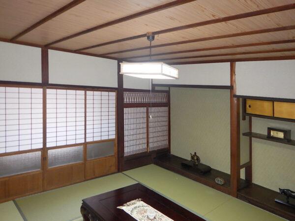 京町屋2階改修工事 残せる部分は残して使い勝手よくリフォーム
