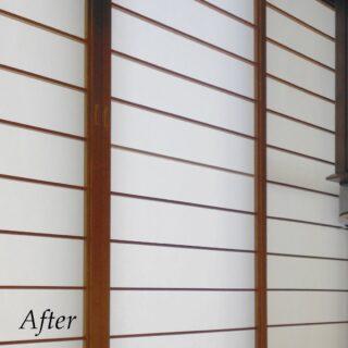 ヨネダリフォーム  施工事例 小工事も喜んで承ります。 桟が折れて障子が破れてました。 補修、張り替えをさせて頂きました。  #障子の張り替え  #障子の貼り替え  #小工事  #障子  #障子のある暮らし  #福知山リフォーム  #綾部市リフォーム  #丹波市リフォーム  #丹波篠山市リフォーム  #ヨネダリフォーム  #施工事例